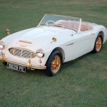 """Goldie"". London Earls Court Show Car"